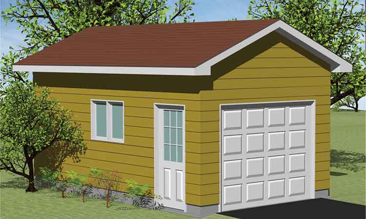 3D Shed and Garage Design